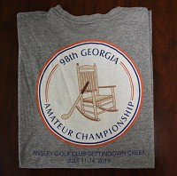 98th Georgia Amateur Championship Imperial T-shirt