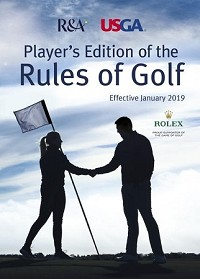 Player's Edition Rules of Golf Books - Box of 168 (books are complimentary, $40 cost covers shipping charges only)